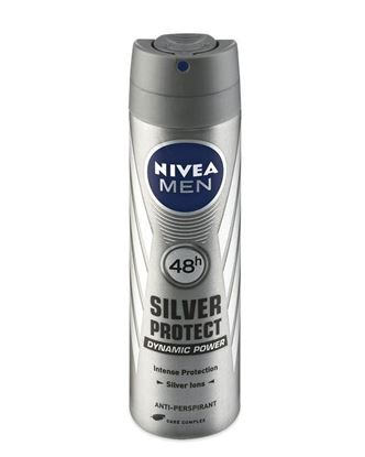 Picture of Nivea Body Spray Silver Protect For Men - 150ml