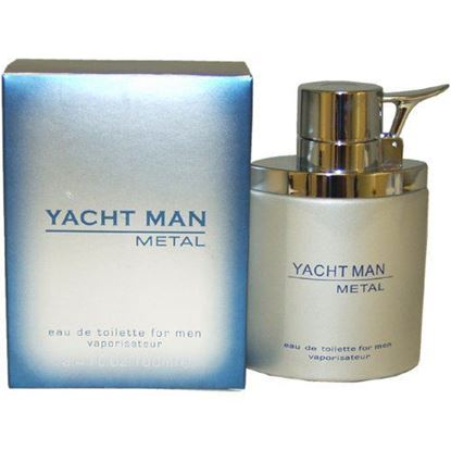 Picture of Yacht Man Metal by Puig Eau-de-toilette Spray for Men, 3.40-Ounce