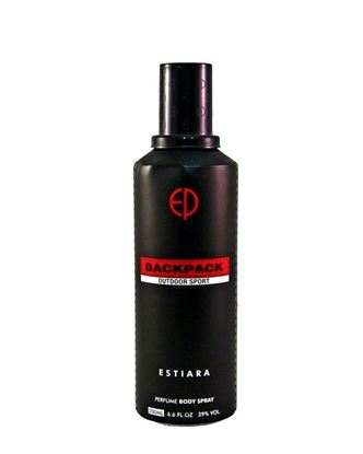 Picture of Estiara Back Pack Outdoor Sport Body Spray for Men - 200ML