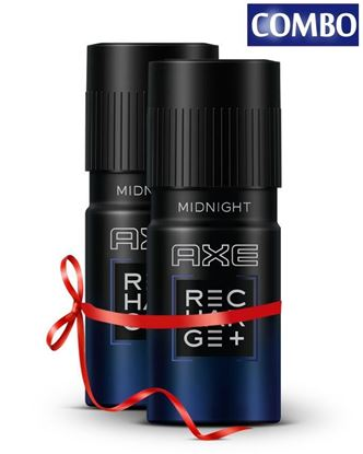 Picture of AXE Combo Pack of Recharge Midnight Deoderant - 300ml - 2pcs