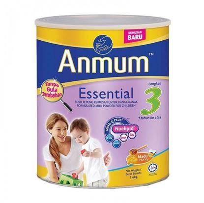 Picture of Anmum Essential Step 3 (1+Years) 1.6Kg-Honey