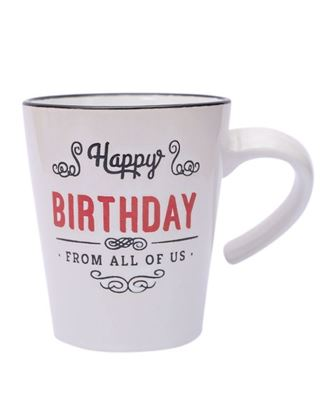 Picture of Happy Birthday Mug special gift.