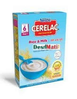 Picture of NESTLÉ CERELAC Rice & Milk (Stage 1, 6 months +) BIB-400gm