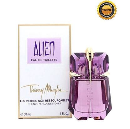Picture of Thierry Mugler ALIEN NON REFILLABLE STONE EDP Perfume For Women - 30ml