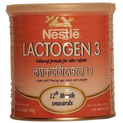 Picture of Lactogen-3 Follow up Formula  400gm.