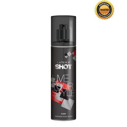 Picture of Layer'r Fury Body Spray for Men - 135ML