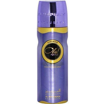 Picture of  Al Haramain Haramain Ola! Purple Deo Body Spray for Men - 200ml