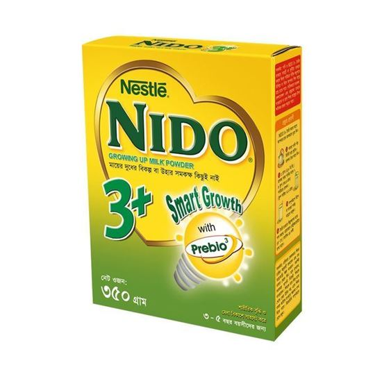 Picture of  Nestle NIDO 3+ Growing Up Milk Powder - 350g