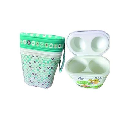 Picture of AmarBabyDotCom Double Feeder Warmer - White
