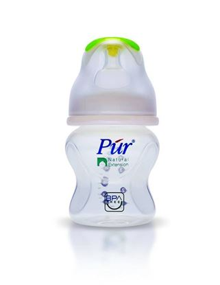 Picture of Pur Natural Extension Wide Neck Feeding Bottle- 5oz/130ml(0m+)