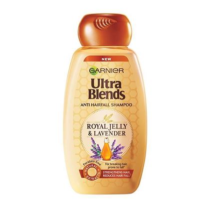 Picture of Garnier Ultra Blends Anti Hairfall Shampoo - Royal Jelly and Lavendar - 340ml