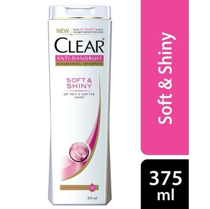Picture of CLEAR Soft & Shiny Anti Dandruff Shampoo – 375ml