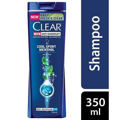 Picture of CLEAR Men Cool Sports Menthol Shampoo 350ml