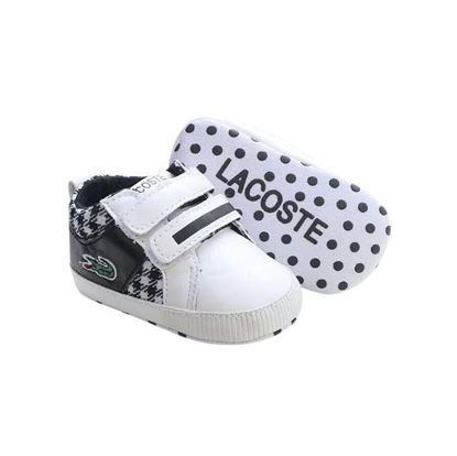 Picture of Zarossa Black and White Cotton Sneaker For Boys