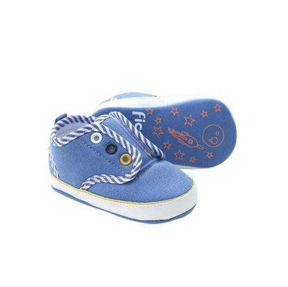 Picture of Zarossa Blue and White Cotton Sneaker For Boys