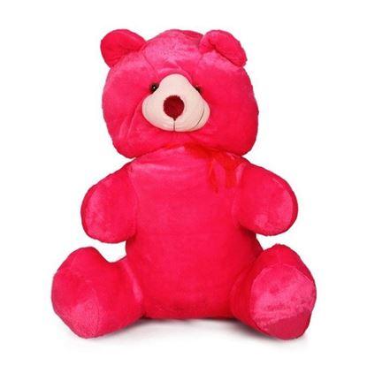 Picture of Jumbo Teddy Bear - Flamingo