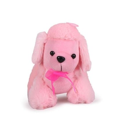 Picture of Standing Dog - Pink