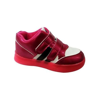 Picture of Kids and Mom Bazar Cloth Casual Keds for Boys - Pink