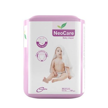 Picture of Neocare Belt System Baby Dry Diaper M (4-9 kg) - 10pcs