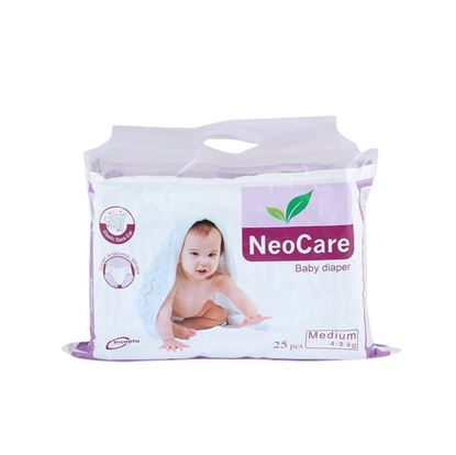 Picture of Neocare Baby Diaper Medium (04-09) kg - 25 pcs