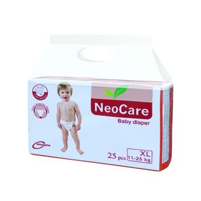 Picture of Neocare Belt System Baby Dry Diaper XL (11-25 kg) - 25pcs