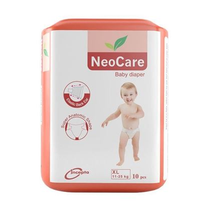 Picture of Neocare Belt System Baby Dry Diaper XL (11-25 kg) - 10pcs