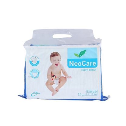 Picture of Neocare Belt System Baby Diaper Large (07-18) kg - 25 pcs
