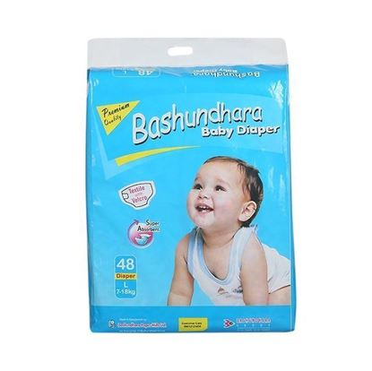 Picture of Bashundhara Baby Diaper Jumbo Series L 7-18 Kg - 48Pcs