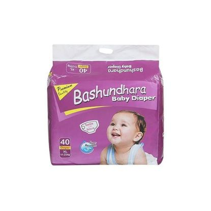Picture of Bashundhara Baby Diaper Jumbo Series XL 11-25 Kg - 40Pcs