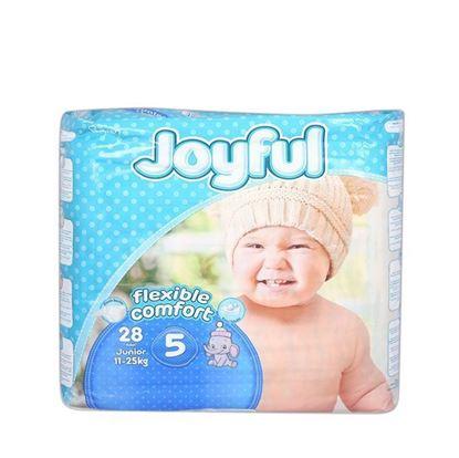 Picture of  Joyful Baby Diaper Flexible Comfort 5 junior (11-25) kg - 28 pcs