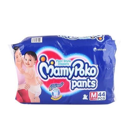 Picture of MamyPoko Pant Style Baby Diaper (7-12) kg - 44 Pcs