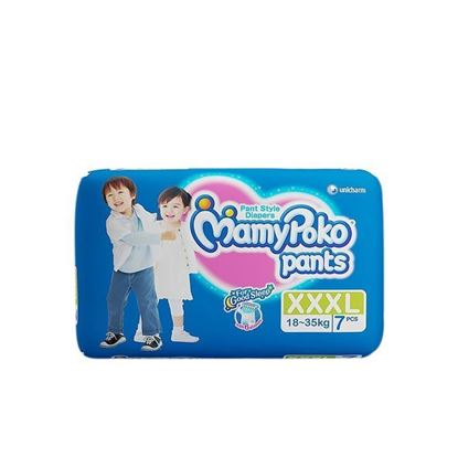 Picture of MamyPoko Pant Extra Absorb - XXXL (18-35kg) - 7 Pcs
