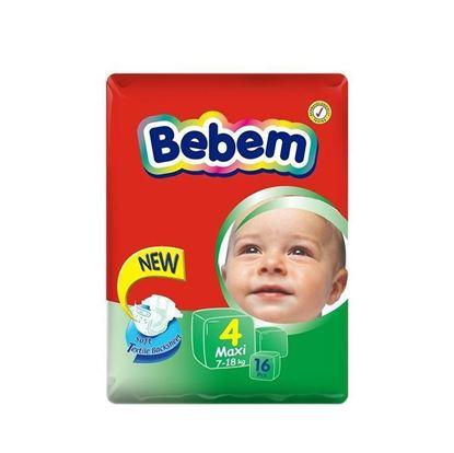 Picture of Bebem Eco Maxi Belt Diaper 7-18 Kg - 16 Pcs