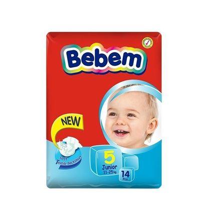 Picture of Bebem Eco Junior Belt Diaper 11-25 Kg - 14 Pcs