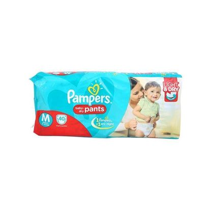 Picture of Pampers Value Pack Diaper - Medium