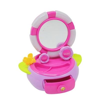 Picture of  Baby Beauty Box Toy - White And Pink