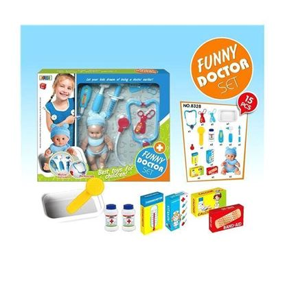 Picture of  Doctor Set Toy - Blue