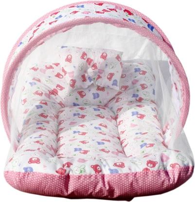 Picture of Yamin Cotton Bedding Set  (White)