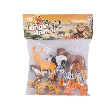 Picture of New Fortune Toys Jungle Animal - Multi Color