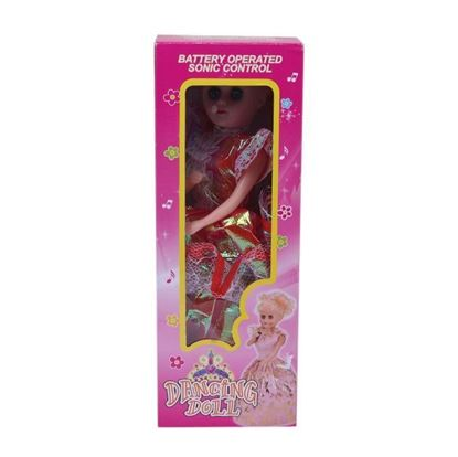 Picture of  Arictocrate Doll - Red
