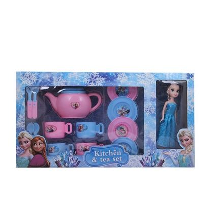 Picture of  Arictocrate Plastic Doll - Pink and Blue