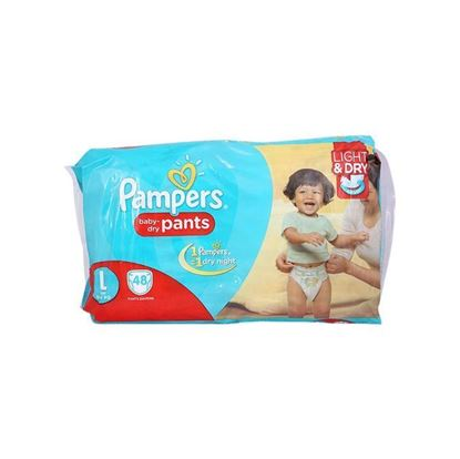 Picture of Pampers Jumbo Pack Diaper - Large