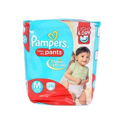 Picture of Pampers Economy Pack Diaper - Medium