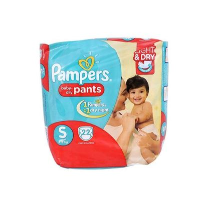 Picture of Pampers Economy Pack Diaper - Small