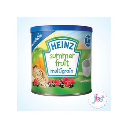 Picture of  Heinz Summer Fruit Multigrain Baby Porridge, Heinz 7m+