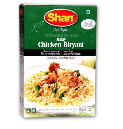 Picture of Shan  Spice Mix For Malay Chicken Biryani 60 mg