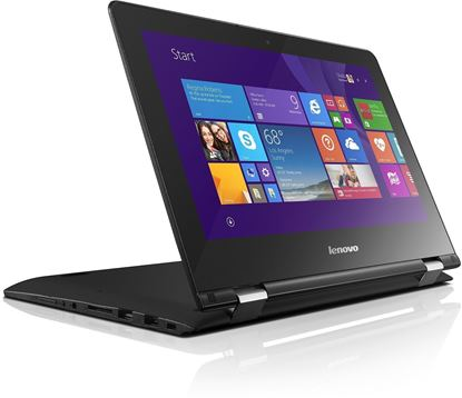 "Picture of Lenovo Ideapad YOGA 500 Black 14"" Multi Touch Laptop With free Reve Internet Security"