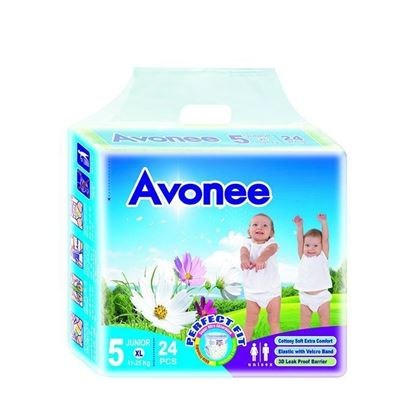 Picture of  Avonee Diaper –Junior (11-25 Kg)-24Pcs