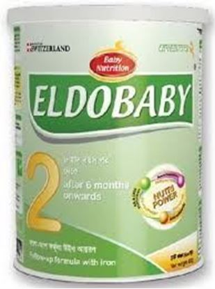 Picture of Eldo baby stage 2 Tin (6 to 12 months)