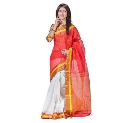 Picture of  Multi-Color Tangail Cotton Saree